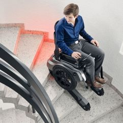 Wheelchair Up Stairs Mesh Office Chair Costco Scewo Stair Climbing  Gadget Flow