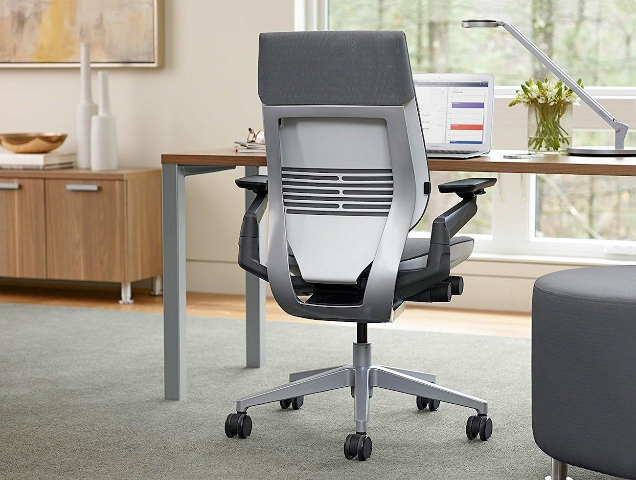 steelcase gesture chair cane barrel makeover ergonomic  gadget flow