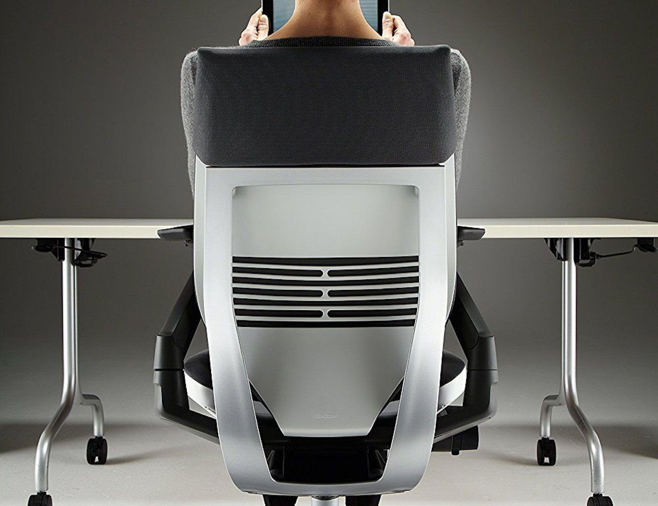 steelcase gesture chair desk target ergonomic  gadget flow