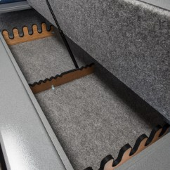Sofa Gun Safe Storage Bed With Cup Holders Couchbunker Hidden Couch  Gadget Flow