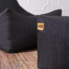 Denim Bean Bag Chair Purple Velvet Living Room Chairs Jaxx Juniper  Gadget Flow