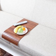 Slide Under Tv Tray Sofa Table Paletten Ruckenlehne Tables Design Amazing