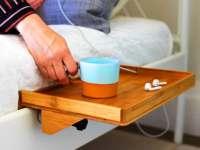 BedShelfie Minimalist Bed Nightstand  Gadget Flow