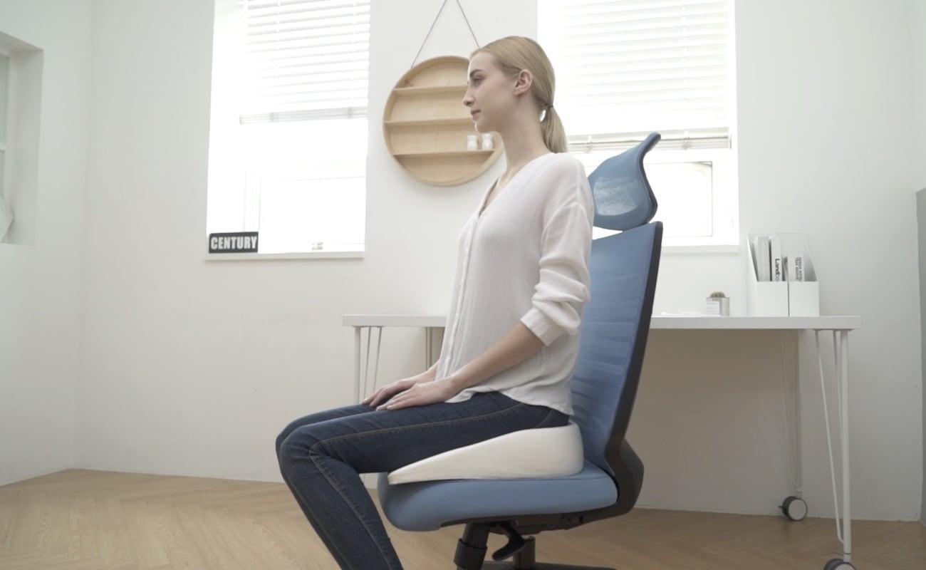 posture chair cushion kids wood rocking zero gravity upright  gadget flow