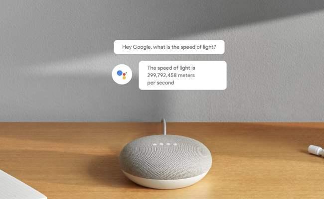 Google Home Mini Smart Assistant Speaker Gadget Flow