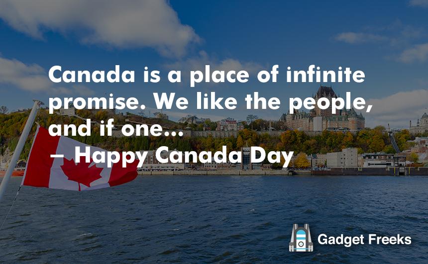 inspirational happy canada day