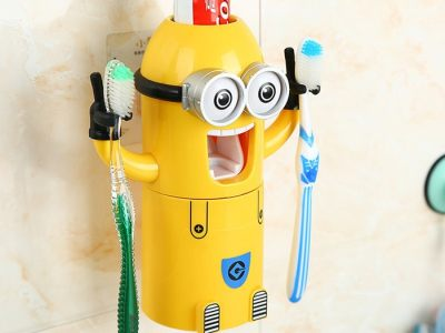 Minion Zahnpastapresse Vorschau