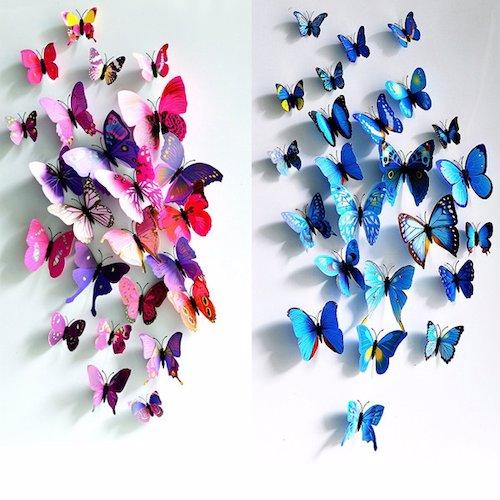 Wandtattoo Schmetterlinge Vorschau