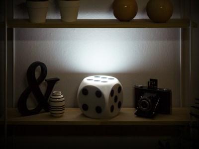 Würfellampe Vorschau