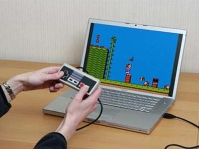 Retro NES-USB-Controller Vorschau