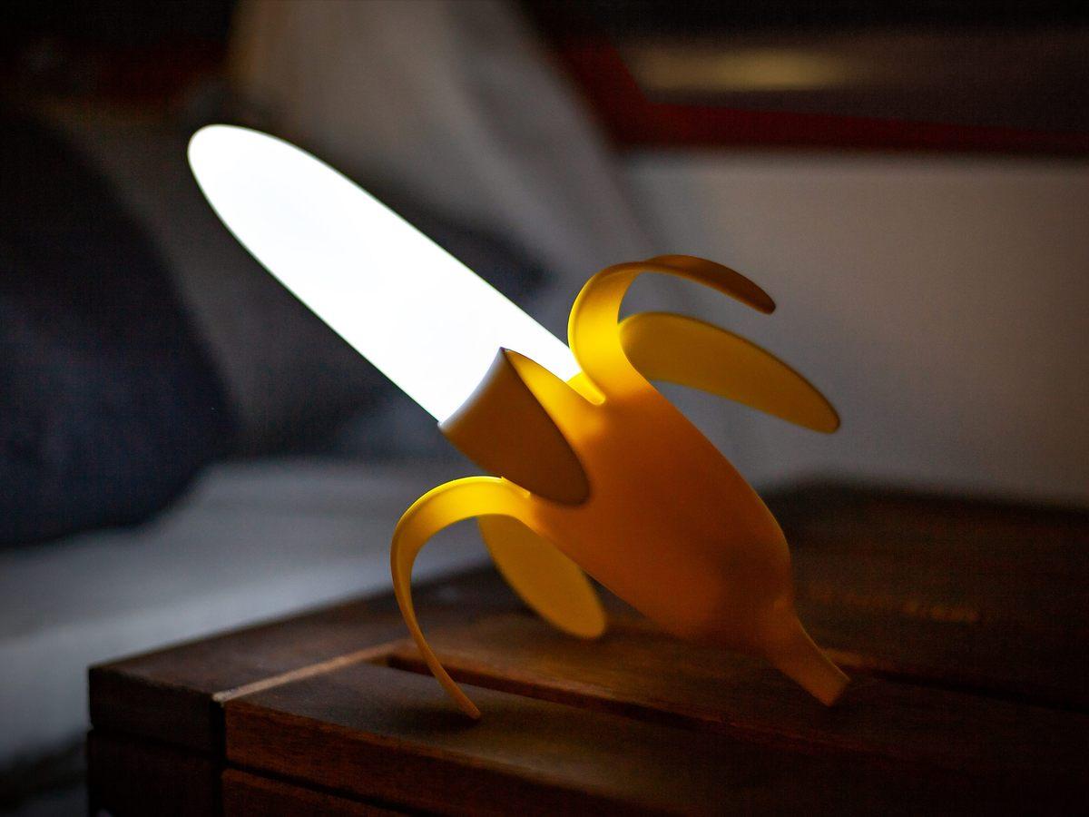 Bananenlampe Vorschau