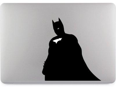 Batman Macbook Aufkleber Vorschau
