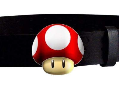 Nintendo Pilz Gürtel Vorschau