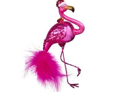 Weihnachtsanhänger Flamingo Vorschau