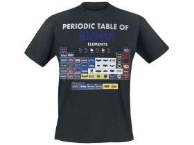 Batman Periodensystem Shirt Vorschau