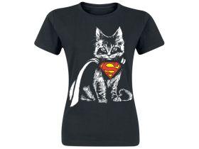 Superman Kätzchen Shirt Vorschau