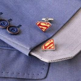 Superman Manschettenknöpfe Galerie 2