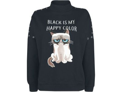 Grumpy Cat Pullover Vorschau