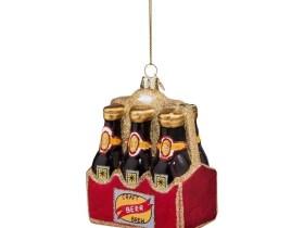 weihnachtskugel sixpack bier