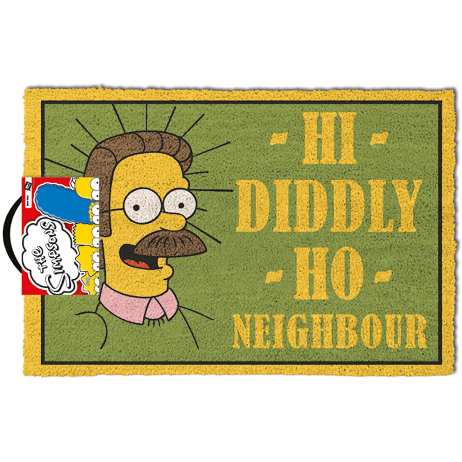 Simpsons Fußmatte Vorschau