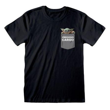 Baby Yoda Shirt schwarz
