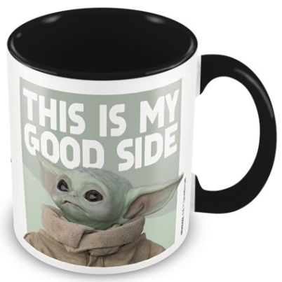 "Baby Yoda Tasse ""This is my good side"""