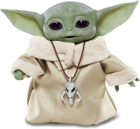 elektronisches Baby Yoda mit Sound und Bewegung