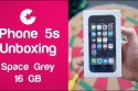 Apple iPhone 5s Unboxing 2016 - 2017 ( Space Grey - 16GB )
