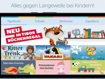App für Kinder: Tigerbooks