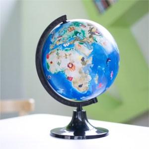 Globus mit Augmented Reality