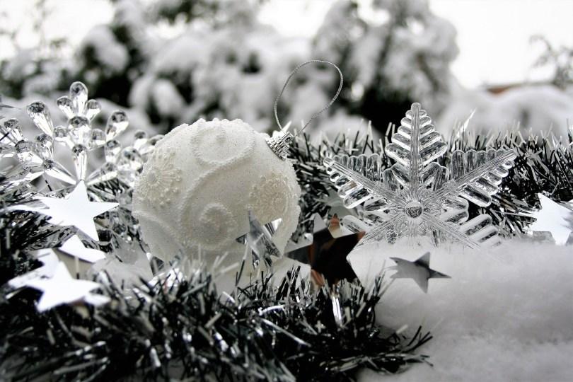 Weihnachten silber