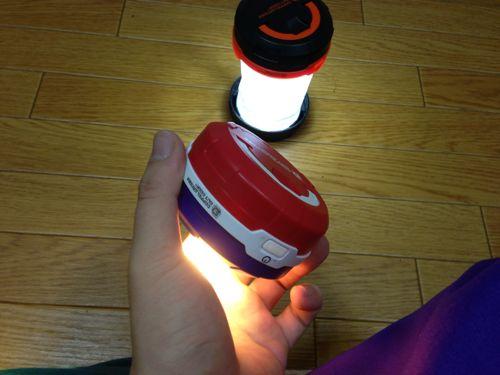 ドッペルギャンガーポップアップ 2WAY LEDランタン4