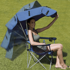 Outdoor Folding Chair With Canopy Top Gaming Chairs Kelsyus   Gadgetking.com