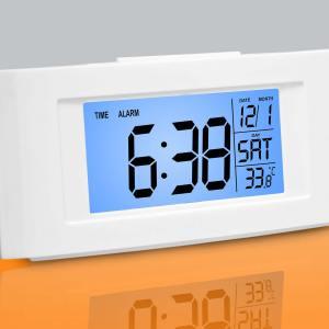Vista Backlight Clock With Temperature