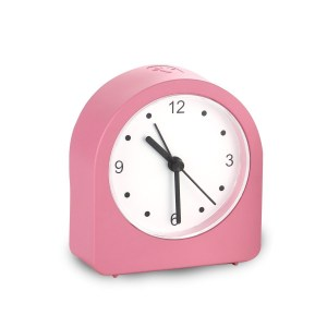 Night lamp clock with Alarm and Super Sweep movement   Rechargeable Lamp   3 Level backlight