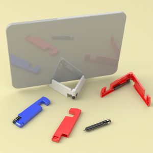Gadget Bud: Mobile & Tablet Stand With Stylus And Pen