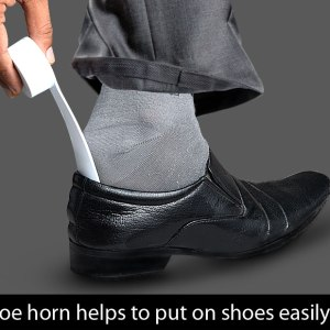 Shoe Shiner With Shoe Horn