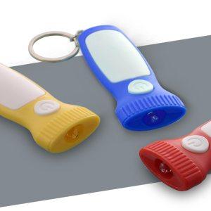 Flasho-Chain: Flashlight Style Keychain With Torch