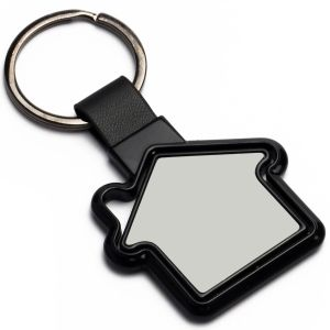 Rotating Hut Shape Keychain