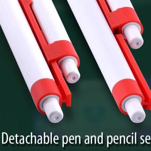Mr & Ms. Combi-Pen: Set Of Pen With Mechanical Pencil (0.7 Mm) (With Gift Box)
