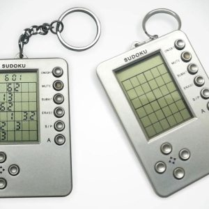 Mini Brain-Roller: Mini Sudoku Game With Key Ring