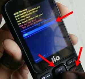 Jio phone ka Password kaise tode step 5