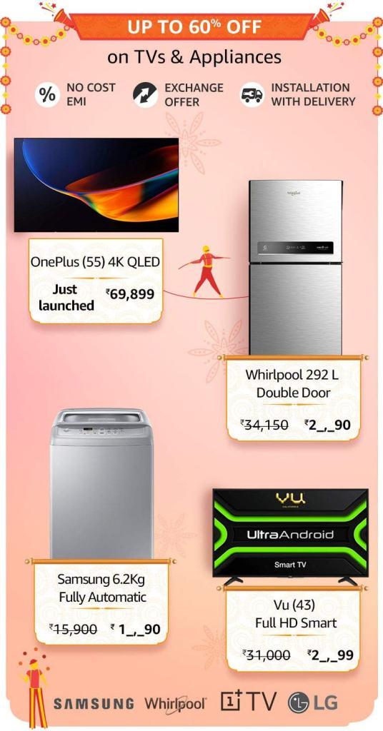 Amazon Great Indian Sale Tv