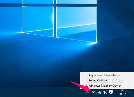 enable sleep mode Windows 10 1