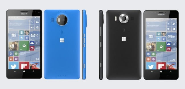 Microsoft Lumia 950 $ 950 XL leak