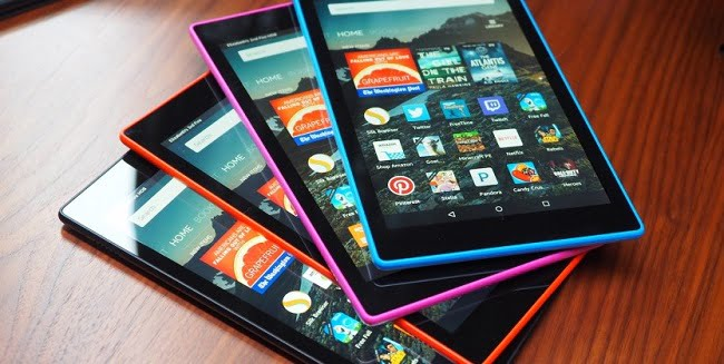 amazon-fire-hd-2015 8 inch and 10.1 inch displays