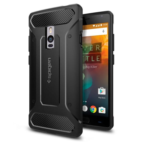 OnePlus 2 matte finish Spigen Rugged Capsule