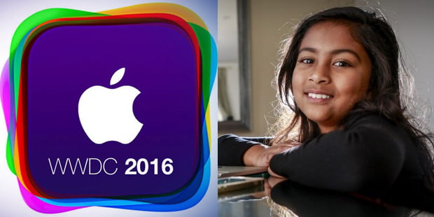 9-year old youngest developer at WWDC '16