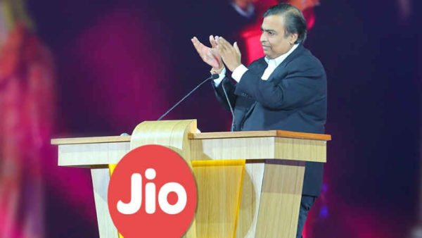 Reliance Jio by Mukesh Ambani
