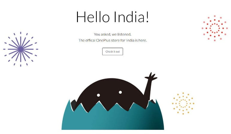 OnePlus online store in India